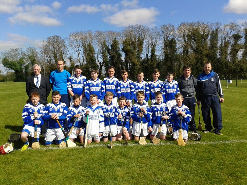 Kildalkey U14 Hurlers competing at 2015 Raharney tournament