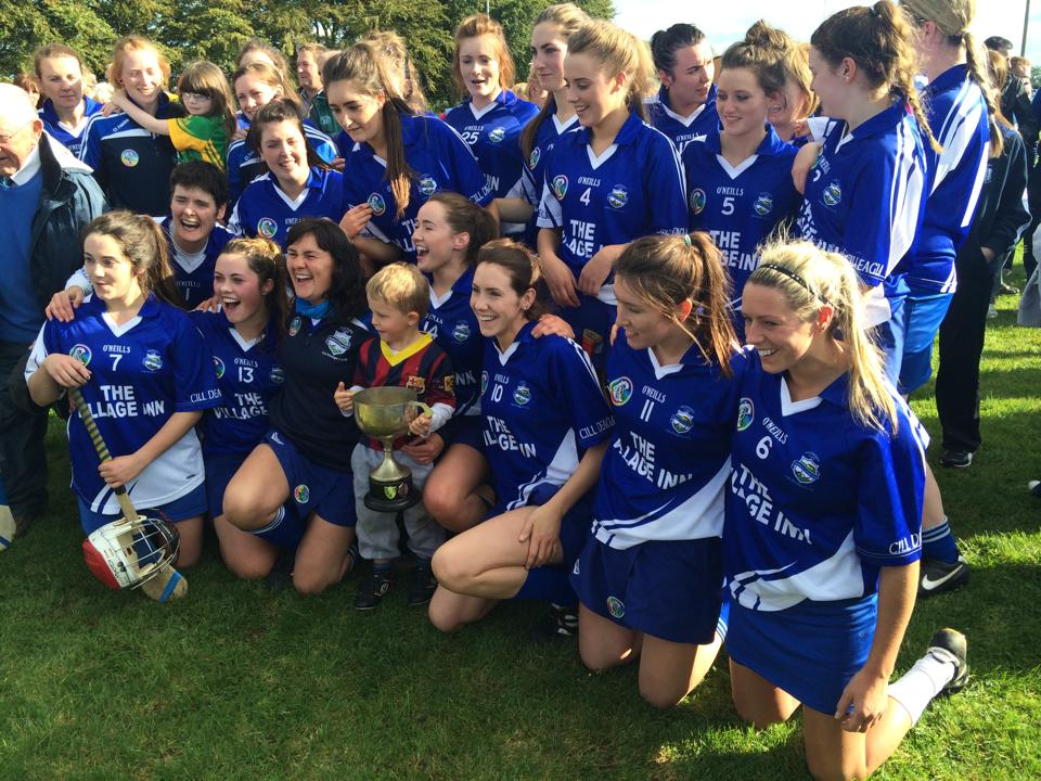 Kildalkey - Meath Intermediate  Camogie Champions 2014